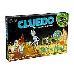 Rick & Morty - Rick and Morty Cluedo Mystery Board Game
