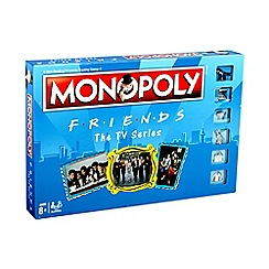 Friends - The TV Series Themed Monopoly Game Board