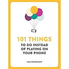 Boxer - '101 Things to Do Instead of Playing on Your Phone' book