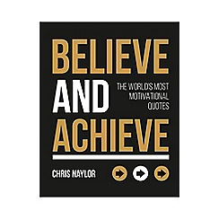 All Sorted - Believe and Achieve Book
