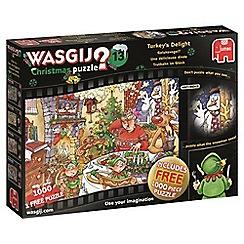 Jumbo - 2 x 1000 piece 'Turkey's Delight' jigsaw puzzle