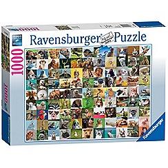Ravensburger - 99 Funny Animals 1000 Piece Jigsaw Puzzle