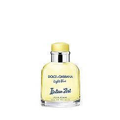 Dolce & Gabbana - 'Light Blue Italian Zest' pour homme eau de toilette 75ml