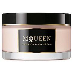 Alexander McQueen - 'MCQUEEN' rich body cream 180ml