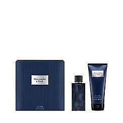 Abercrombie & Fitch - 'First Instinct Blue' for Men Eau De Toilette Gift Set