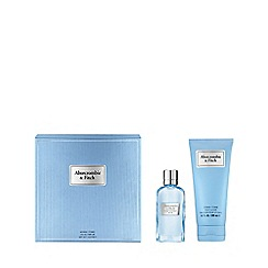 Abercrombie & Fitch - 'First Instinct Blue' for Women Eau De Parfum Gift Set
