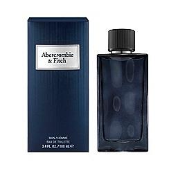 Abercrombie & Fitch - 'First Instinct Blue' for men eau de parfum
