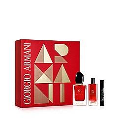 ARMANI - Sì Passione' For Her Eau De Parfum and Mascara Gift Set