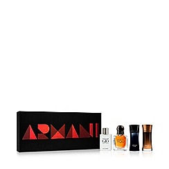 ARMANI - Miniature Size Men's Aftershave Gift Set