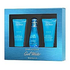 Davidoff - 'Cool Water' Woman Eau De Toilette Gift Set