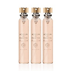 ACQUA DI PARMA - 'Rosa Nobile' leather purse eau de parfum refills