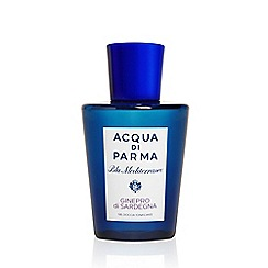ACQUA DI PARMA - 'Ginepro Di Sardegna' energising shower gel 200ml