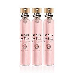 ACQUA DI PARMA - 'Peonia Nobile' travel spray refills 3 x 20ml