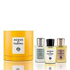 ACQUA DI PARMA - 'Colonias Hat Box' aftershave gift set
