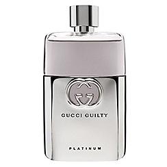 Gucci - 'Guilty Platinum Pour Homme' eau de toilette 90ml