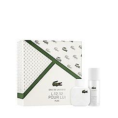Lacoste - 'Eau de Lacoste L.12.12 Blanc' Eau De Toilette Gift Set