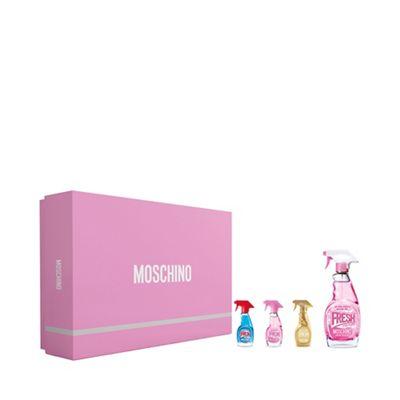 Moschino   'pink Fresh Couture' Eau De Toilette Gift Set by Moschino