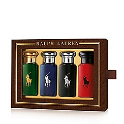 Ralph Lauren - 'The World of Polo' Miniature Size Aftershave Gift Set