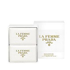 Prada - 'La Femme' velvet soap duo