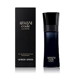 ARMANI - 'Armani Code Ultimate' eau de toilette intense