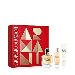 ARMANI - 'Because It's You' Eau De Parfum Gift Set