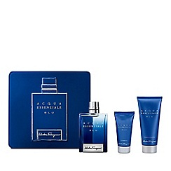 Salvatore Ferragamo - 'Acqua Essenziale Blu' eau de toilette gift set