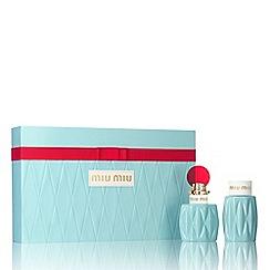 Miu Miu - 'Miu Miu' eau de parfum 50ml gift set