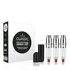 Travalo - 'Classic HD in Black' gift set
