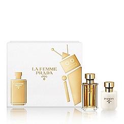 Prada - 'La Femme Prada' eau de parfum gift set