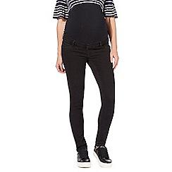 Red Herring Maternity - Black maternity skinny jeans