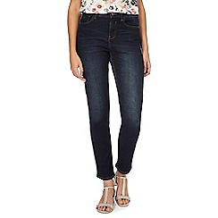 RJR.John Rocha - Dark blue dark wash 'Brooke' slim fit high waist jeans