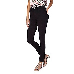 RJR.John Rocha - Black 'Brooke' high-waisted slim leg jeans