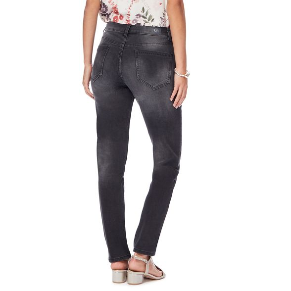 leg jeans John Dark high 'Brooke' Rocha waisted grey slim RJR gzOwF8xqdq