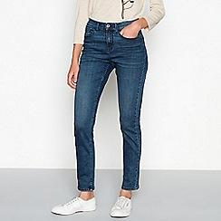 RJR.John Rocha - Mid blue 'Brooke' high waisted slim fit jeans