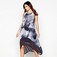 RJR.John Rocha - Purple smudge print dress