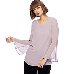 RJR.John Rocha - Lilac flare sleeves top