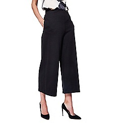 RJR.John Rocha - Black ponte cropped trousers