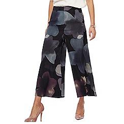 RJR.John Rocha - Black floral print culottes