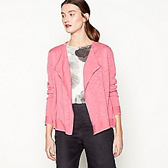 RJR.John Rocha - Bright pink long sleeve cardigan