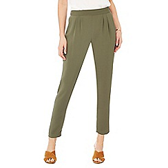 RJR.John Rocha - Khaki tailored fit trousers