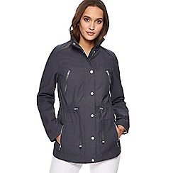 RJR.John Rocha - Navy four pocket jacket