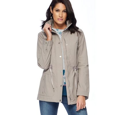RJR.John Rocha Taupe four pocket jacket  79a40cdfd