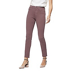 RJR.John Rocha - Mauve  Brooke' high-waisted slim leg jeans