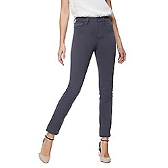 RJR.John Rocha - Pale grey 'Brooke' high-waisted slim leg jeans