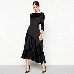 RJR.John Rocha - Black batwing sleeve midi dress