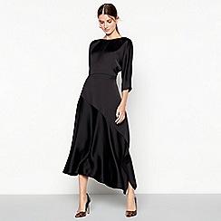 RJR.John Rocha - Black batwing sleeve midi dress