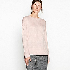 RJR.John Rocha - Mid rose back button jumper