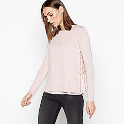 RJR.John Rocha - Light Pink Side Split Jumper