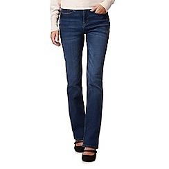 RJR.John Rocha - Dark blue mid wash 'Jenna' slim bootcut jeans