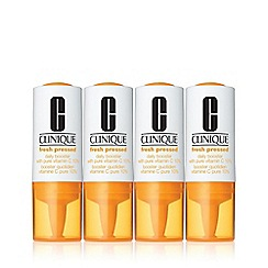 Clinique - 'Fresh Pressed' daily booster with pure vitamin C